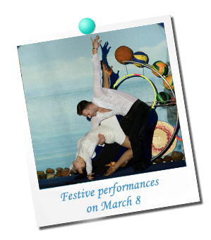 Festive performances on March 8