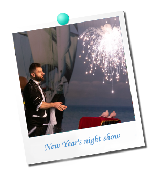 New Year`s night show 2020